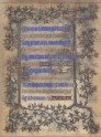 A Leaf from the Book of Hours of Yolande of Navarre