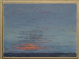 Study of Dawn: the first Scarlet on the Clouds