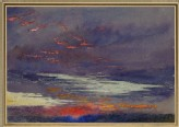 Study of Dawn: purple Clouds (Ruskin, John - Study of Dawn: purple Clouds)