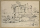 The Chapel on the Bridge at Wakefield (Prout, Samuel - The Chapel on the Bridge at Wakefield)
