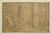 The Story of Cupid and Psyche: Cerberus (Burne-Jones, Edward - The Story of Cupid and Psyche: Cerberus)