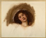 Study for a Head of Danaë