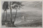 "Engraving of Turner's ""Florence, from Fiesole"""