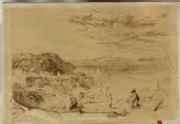 "Tracing of Turner's ""Heysham and Cumberland Mountains"""