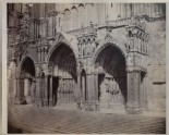 Photograph of the southern Porches of Chartres Cathedral