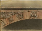 The Cornice of the Porch of the Duomo, Verona
