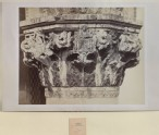 Photograph of the ground-floor Capital on the south-west corner of the Ducal Palace, Venice (the 'Fig-Tree Angle')