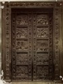 """Photograph of Ghiberti's East Door of Florence Baptistery (""""The Gates of Paradise"""")"""