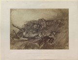 """Photograph of Turner's """"Loss of an East Indiaman"""""""