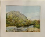 A coloured Photograph of a Landscape (unidentified - A coloured Photograph of a Landscape)