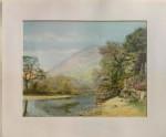 A coloured Photograph of a Landscape