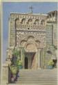 Entrance to the Chapel of St. Michel d'Aiguilhe, Le Puy