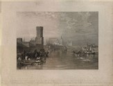 "Engraving of Turner's ""Cologne, from the River"""