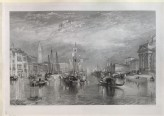 "Engraving of Turner's ""Venice, from the Porch of Madonna della Salute"""