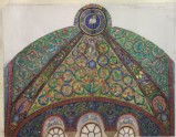 Drawing of Mosaics in the Vault of the Chancel of San Vitale, Ravenna