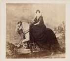"Photograph of Velázquez's ""Portrait of Isabel of Bourbon on Horseback"""