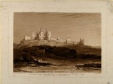 Dunstanborough Castle (from the Liber Studiorum) (Turner, Joseph Mallord William - Liber studiorum - Dunstanborough Castle)