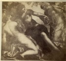 "Photograph of a detail of Tintoretto's ""The Three Graces and Mercury"""