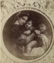"Photograph of Raphael's ""Madonna della Sedia"""