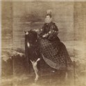 "Photograph of Velázquez's ""Portrait of Donna Margarita of Austria on Horseback"""