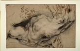 Study of a nude Man tormented by Demons