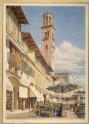 The Piazza delle Erbe, Verona