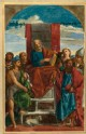 "Drawing of Palma Vecchio's ""Saint Peter enthroned and Saints"""