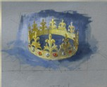A Perspective Study of a paper Crown