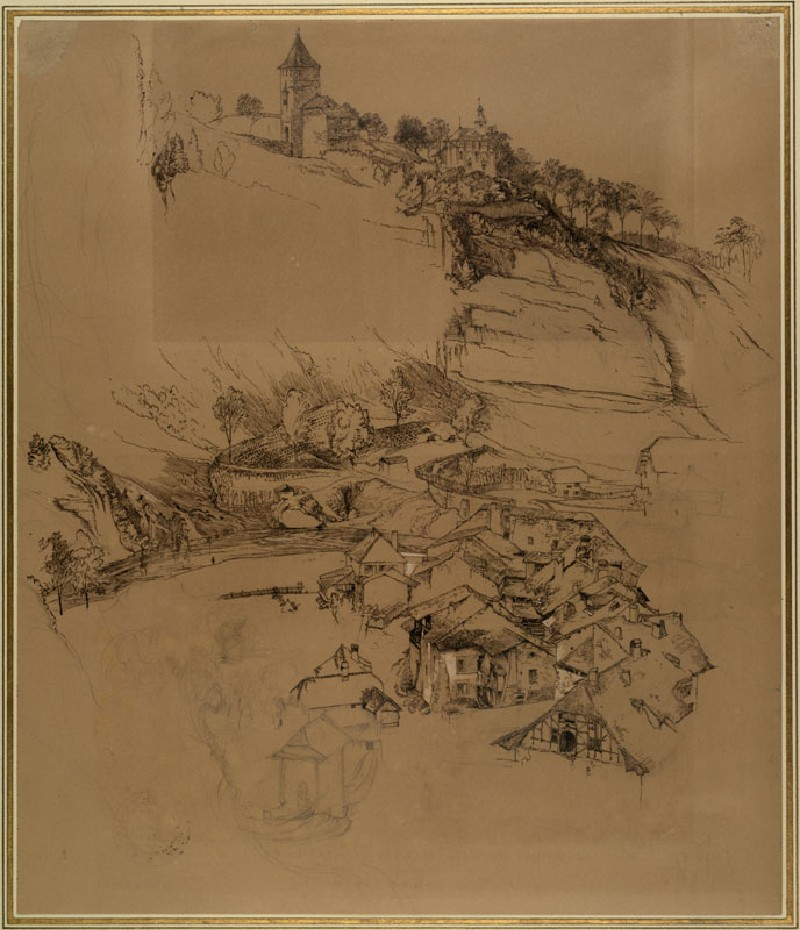 Ashmolean − The Elements of Drawing, John Ruskin's teaching